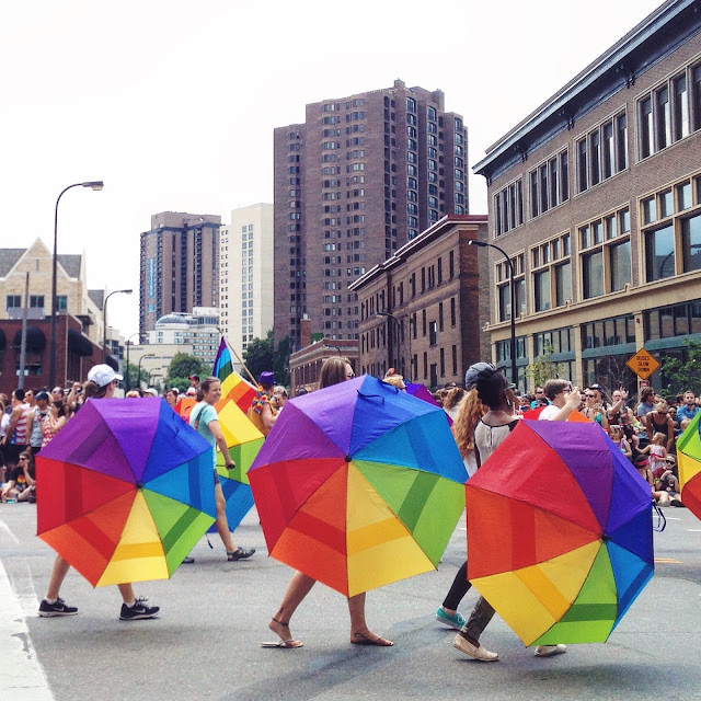 Gay Pride Parade in Minneapolis, MN