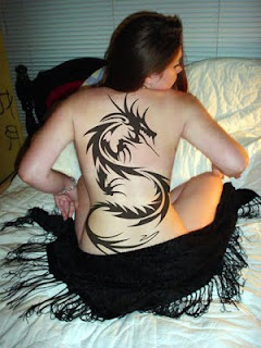 3D DRAGON TATTOO