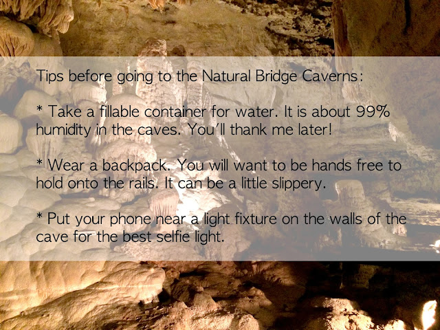 Tips before going to Natural Bridge Caverns Cave Tour and Canopy Course Challenge in San Antonio Texas