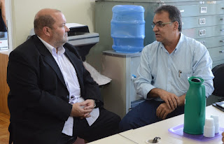 Prefeito Márcio Catão e João Carlos Grilo, subsecretário extraordinário da Região Serrana, reafirmam parceria de estado e município na realização de projetos