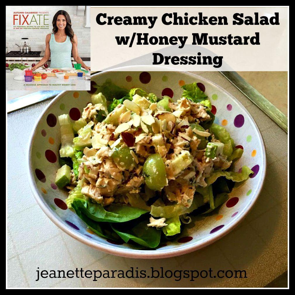 Fixate, Clean Eating, Chicken Salad, Summer Salad