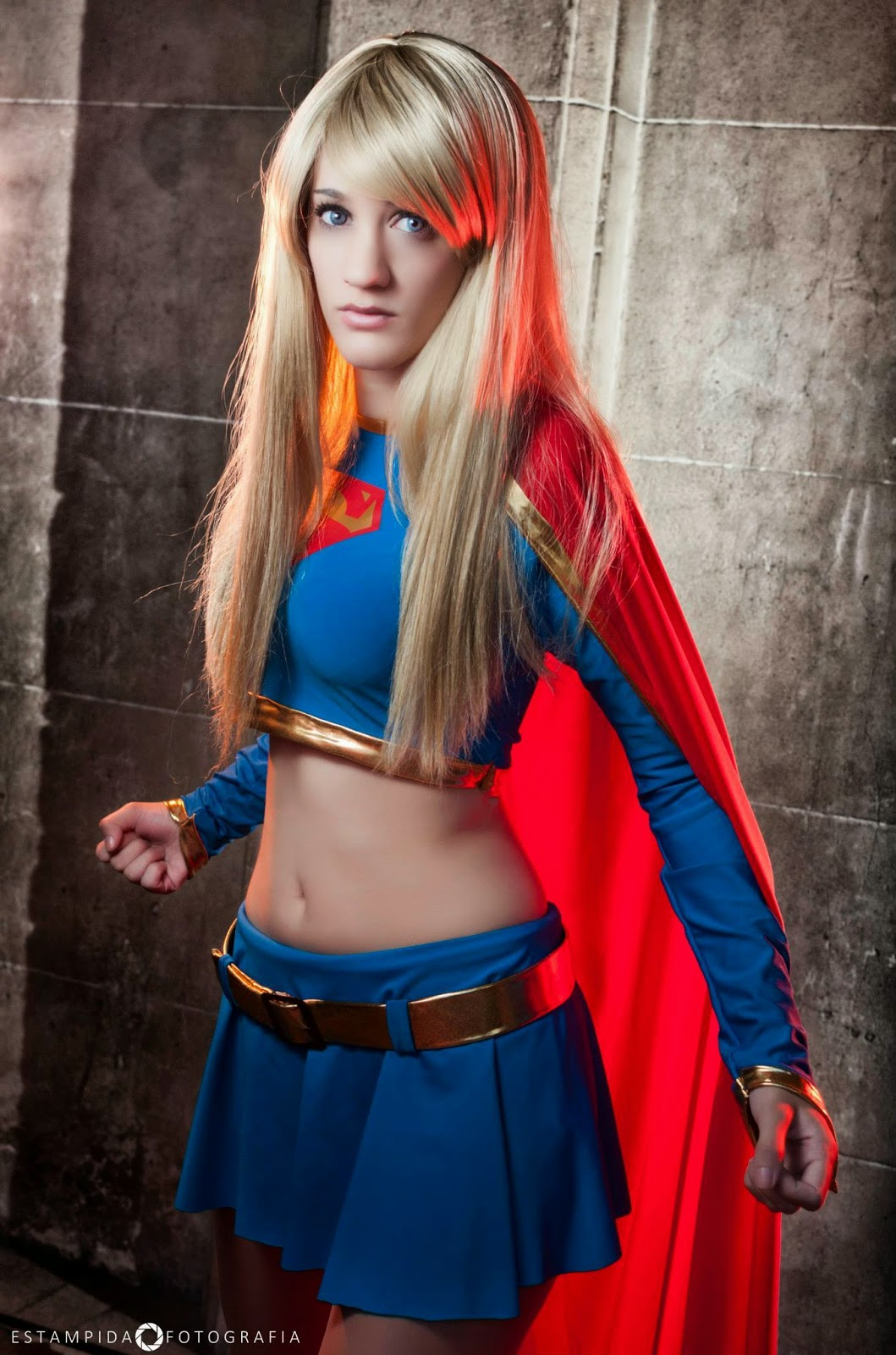 SHE Super Heroines Everywhere Supergirl By Sophie