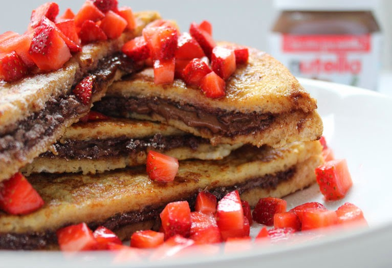 All Hans-on | Baking, Crafts & Lifestyle Blog: Nutella French Toast