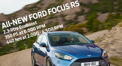 Η Ford αποκαλύπτει τα 350 Άλογα του νέου Focus RS με τον Ken Block στο Goodwood