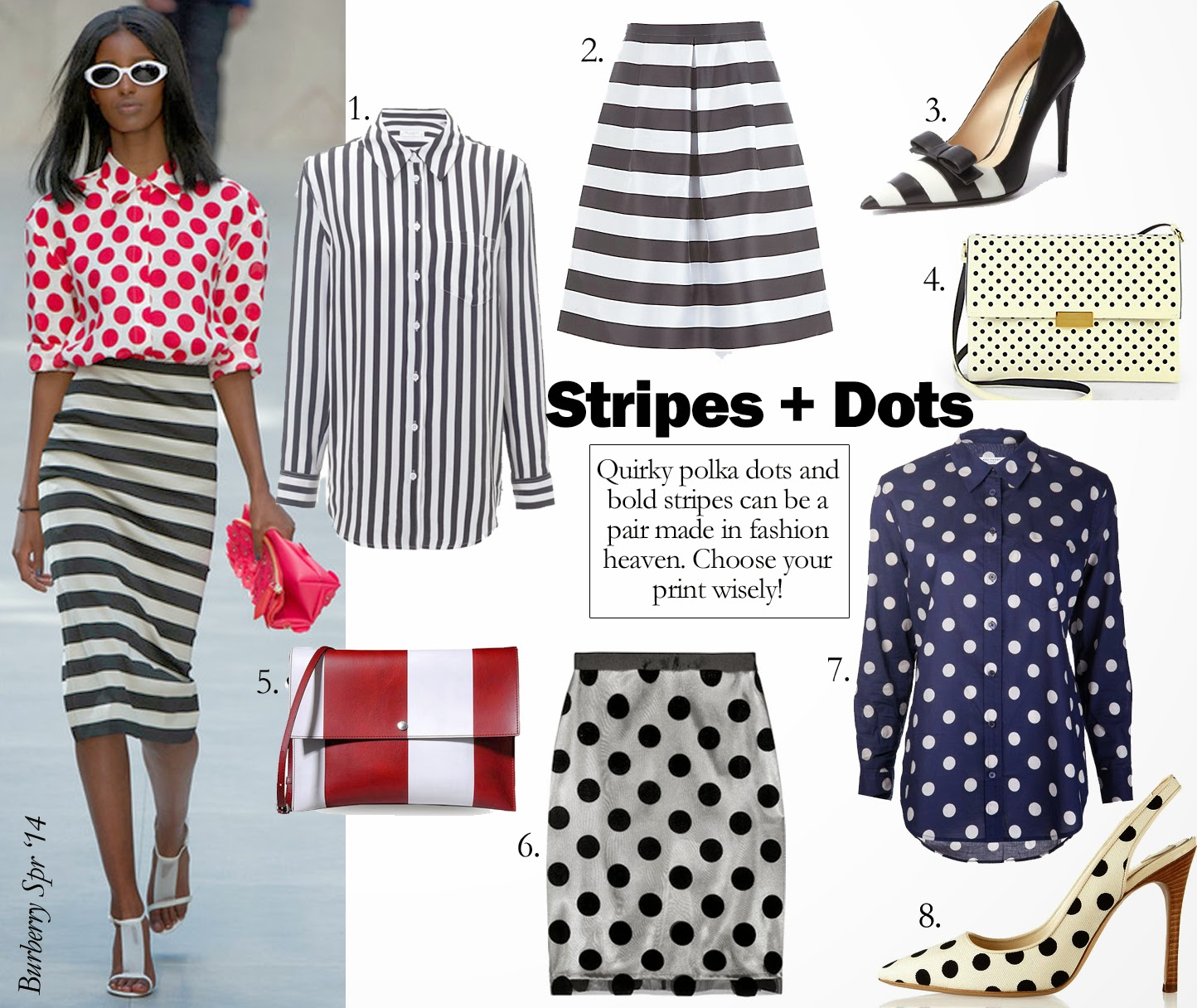 Get The Look: Stripes + Dots