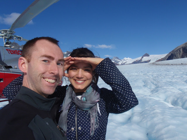 Brisa with Temsco on Mendenhall Glacier