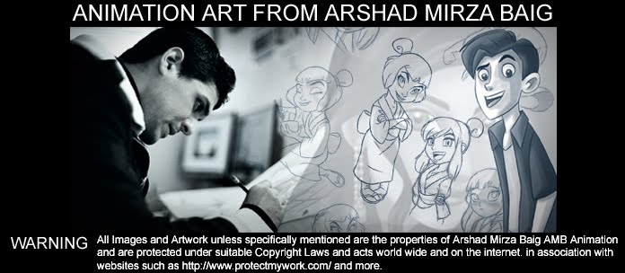 Animation art from Arshad Mirza Baig