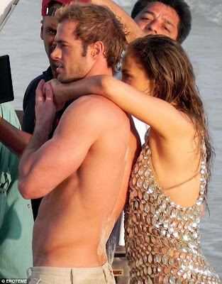 jennifer lopez y william levy filmaron un sensual videoclip de la