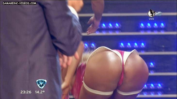 Argentina Victoria Xipolitakis ass hole oops close up