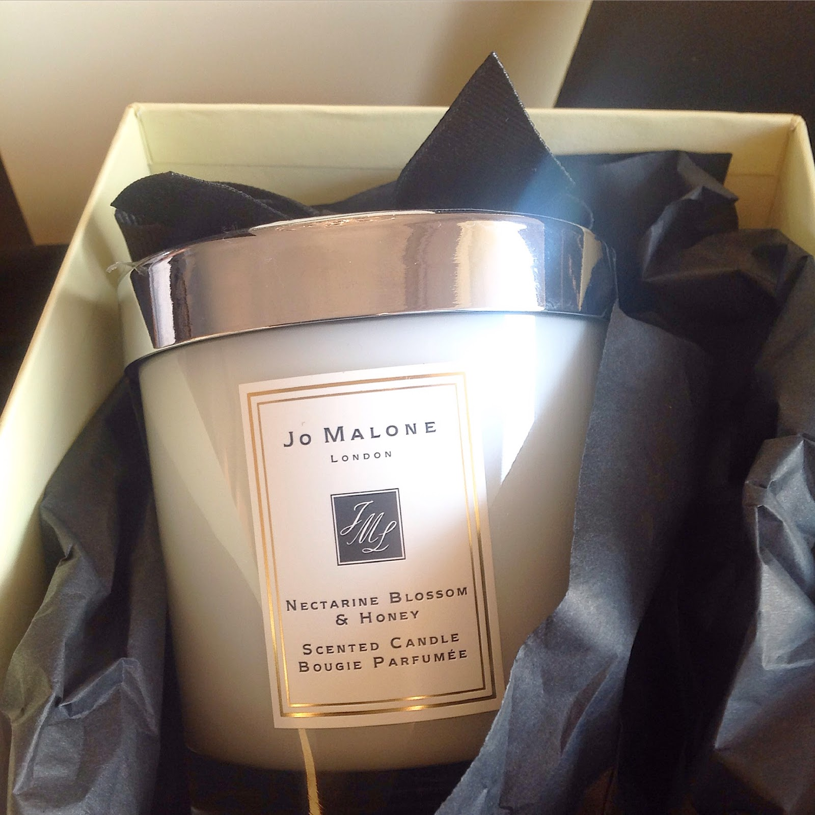 Nectarine Blossom and Honey Jo Malone Candle