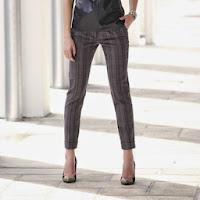 Pantaloni pana pentru femei lungime interioara 76 cm (3 Suisses Collection)