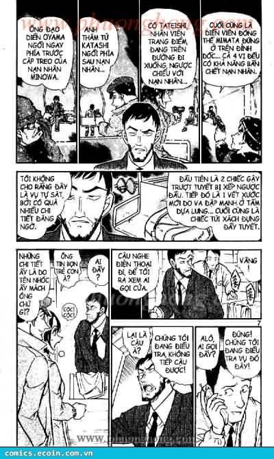 Detective Conan - Thám Tử Lừng Danh Conan chap 522 page 3 - IZTruyenTranh.com