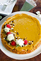 Indian-Spiced Sweet Potato Cake (GF) (DF)