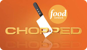 "Food Network show ""Chopped"" logo"