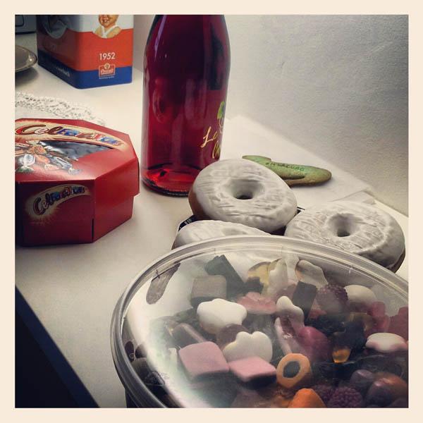 Pearl's Harbor Blog - Süßigkeiten und Donats