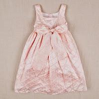 Vestido de niña corte imperio