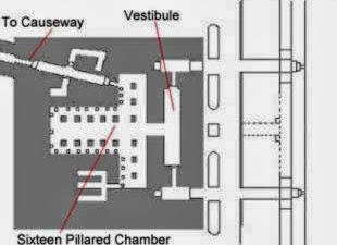Ground Plan of the Valley Temple