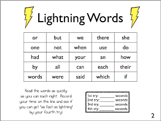 entire word a sheet Simply sight goal Word  Sight Middle: Packet  Homework  the worth! year's