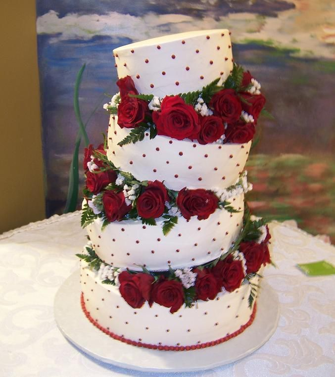 Cake Designs For Wedding : Wedding Pictures Wedding Photos: Wedding Cake Decorating ...