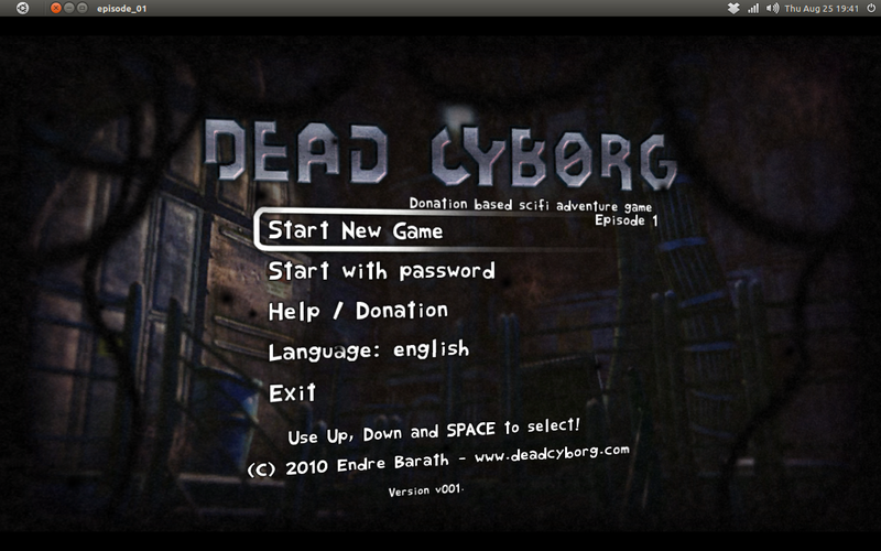Dead Cyborg: Game petualangan fiksi ilmiah, GRATIS!