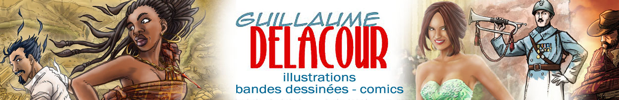 Guillaume Delacour illustrateur/auteur BD