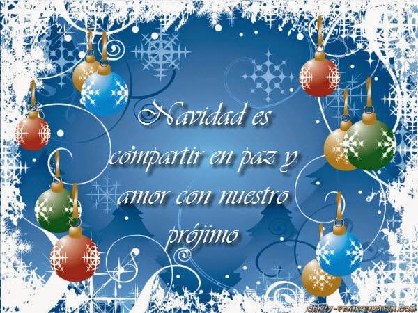 Imagenes con mensajes lindos navideños
