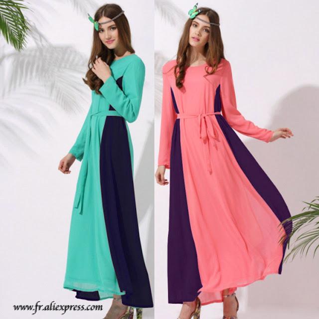Robe abaya moderne