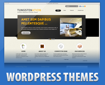 Tungstenation Free WordPress Theme