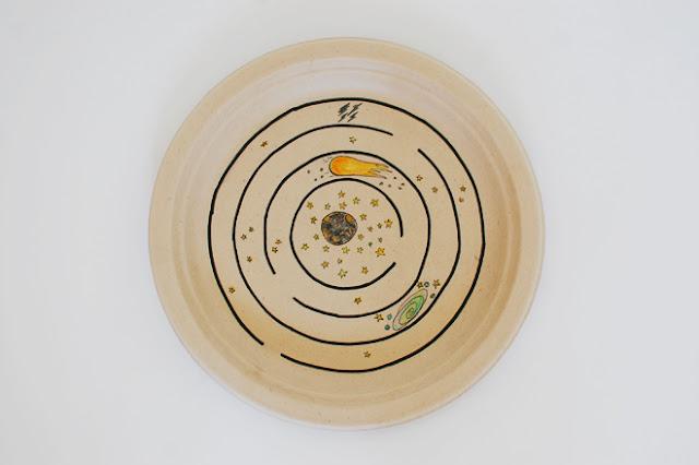 Labirinto feito com prato de papel e ímã - PAP 02 - 05