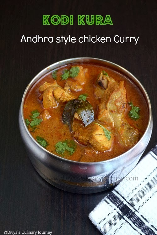 Chicken curry Andhra style