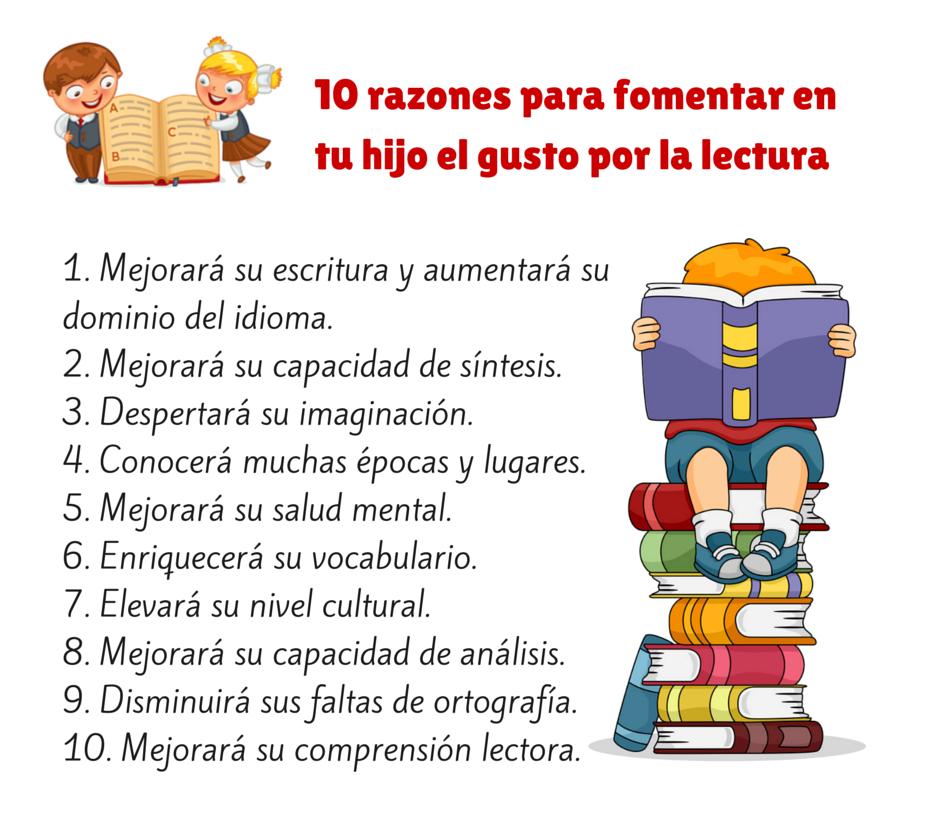 Fomenta la lectura en tus hijos/as