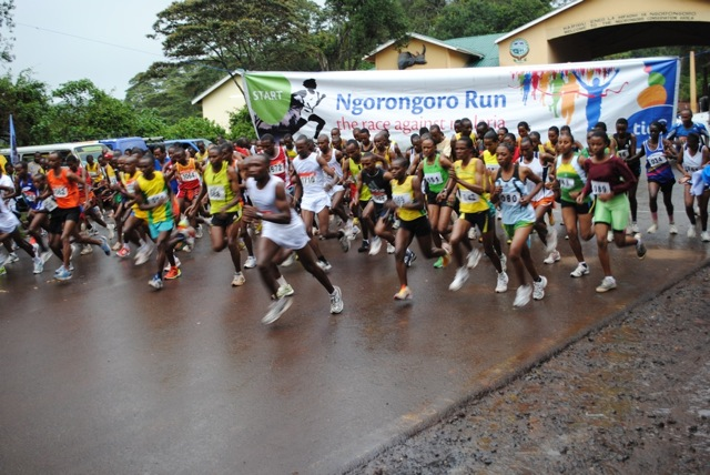 Tigo pushing sports and well-being at the Zara Charity organised Ngorongoro Half Marathon