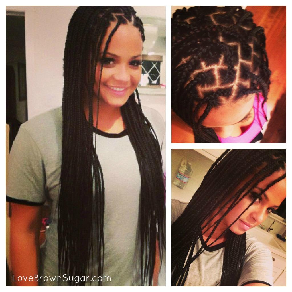 think I REALLY want box braids