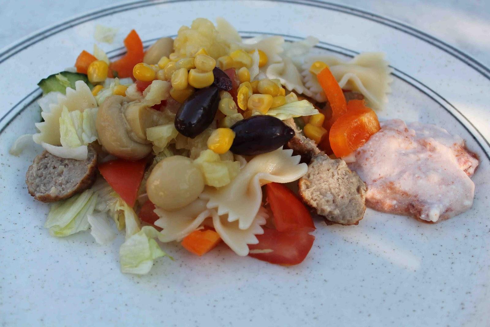 Küchen Kall Kg Oftersheim ~ matro pastasallad med dressing i s