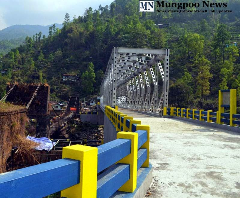 Newly constructed jogighat steel bridge