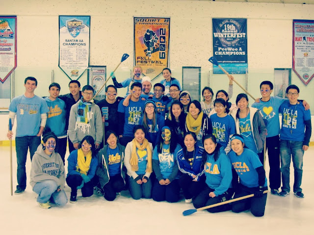 GOC Senior Class of 2013- Broomball