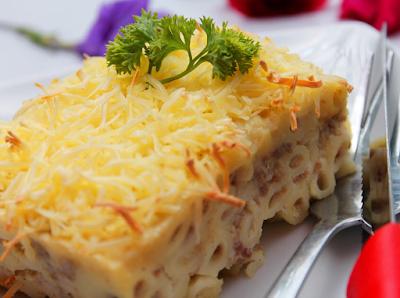 Resep Macaroni Schotel Kukus Praktis Tanpa Oven Sederhana