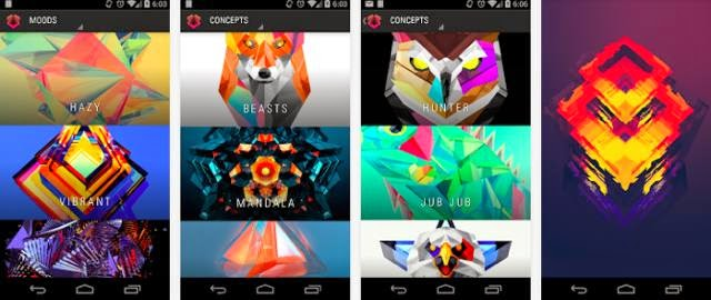 Facets Wallpaper apk