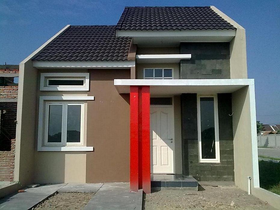 contoh rumah type 36 minimalis tampak depan