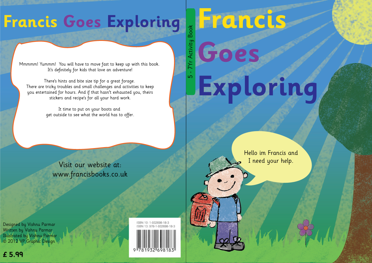 Children S Book Front And Back Cover : Children book back cover design