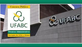 Apostila Concurso UFABC 2016 Assistente em Administração da Universidade Federal do ABC.