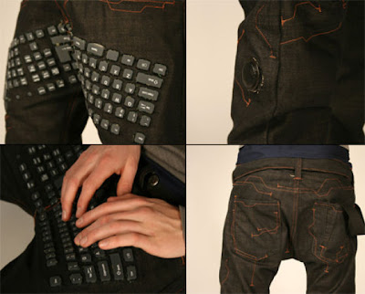 Computer Keyboard Pants by www.KisKut.com