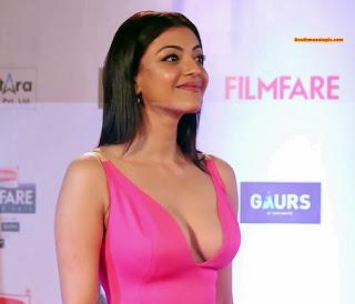 Kajal agarwal filmfare cleavage