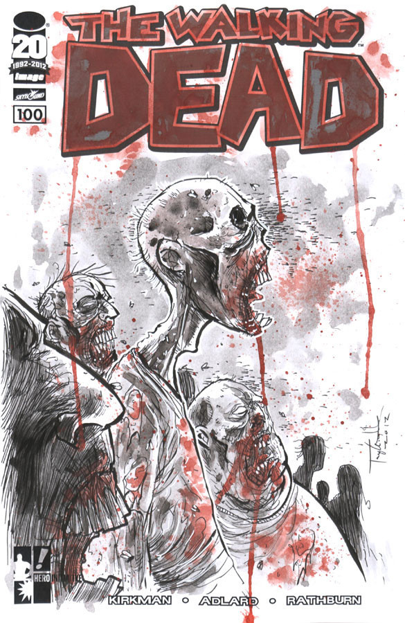 The Walking Dead nº 100 Ben Templesmith
