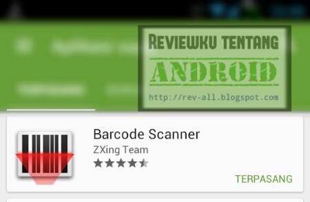 Screenshot ikon BARCODE SCANNER aplikasi android scan barcode & QR code ringan dan kecil (rev-all.blogspot.com)