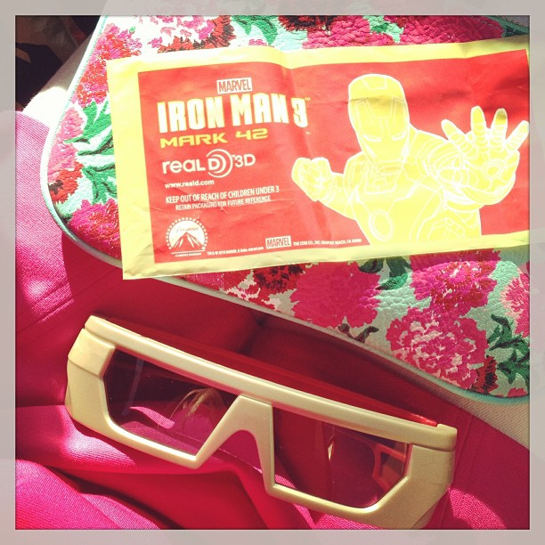 iron man 3 3d glasses