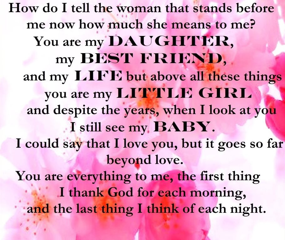 Funny I Love You Daughter Quotes : See many other inspirational quotes here