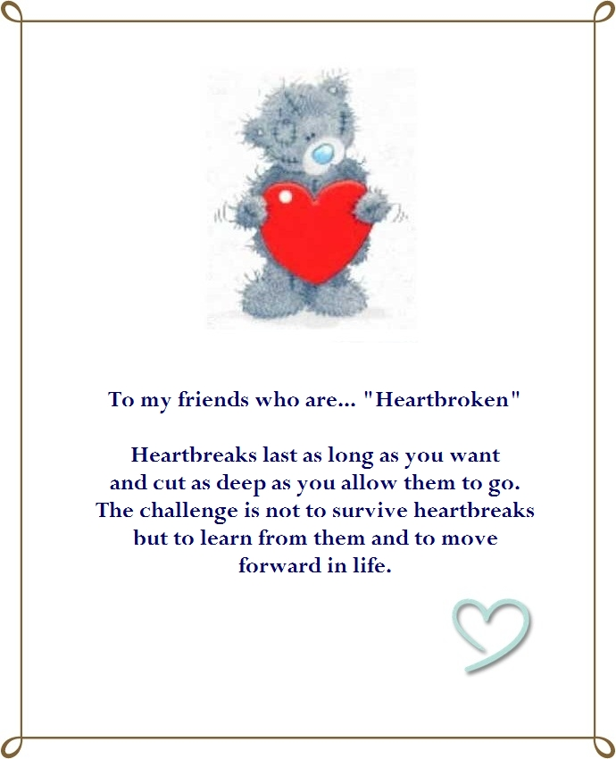 Advice For A Friend Who Is Heartbroken