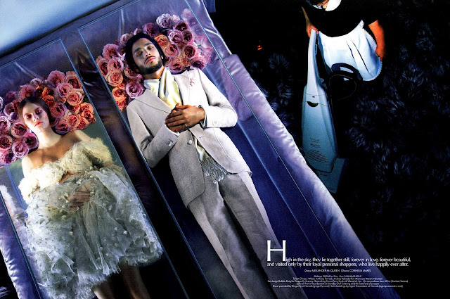 LUCHO & JULIET by TOM FORD WITH LUCHO JACOB AND CARINE ROITFELD