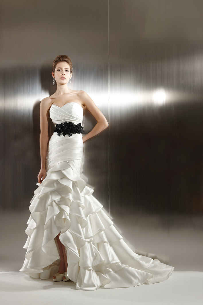 beautiful high low wedding dresses 2012